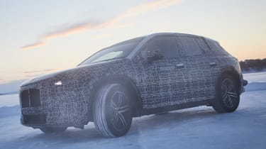 BMW iNEXT Teaser - front 3/4