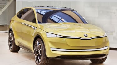 A to Z guide to electric cars - Skoda Vision E