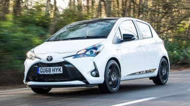 Toyota Yaris GR Sport - front