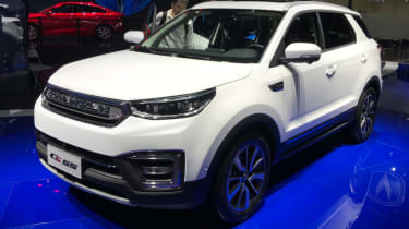 Chinese copycat cars - Changan CS55