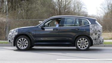 BMW iX3 facelift - side