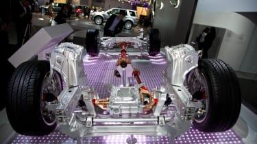 Jaguar all-wheel drive system