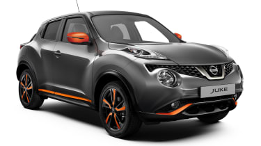 Nissan Juke updated - front