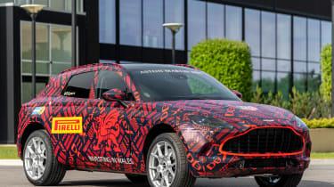 Aston Martin DBX - pre-production model - front 3/4