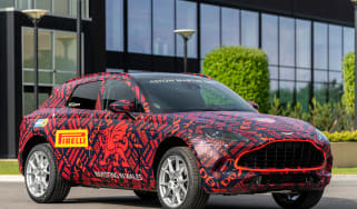 Aston Martin DBX - pre-production model - front 3/4