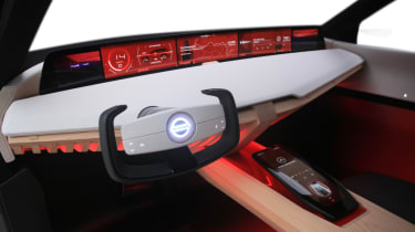Nissan Xmotion Concept - interior