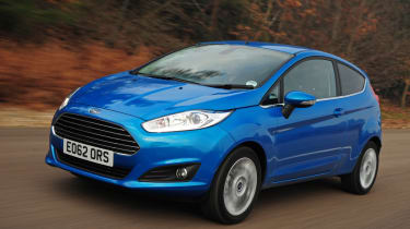 Ford Fiesta front action