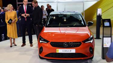 Vauxhall Corsa e - Jurgen Klopp Frankfurt