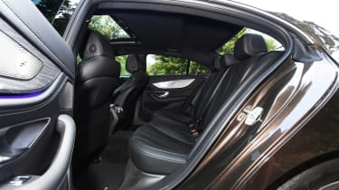 Mercedes CLS 350 d - rear seats