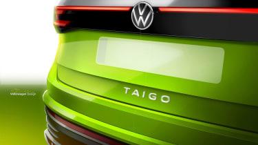 Volkswagen Taigo - rear detail