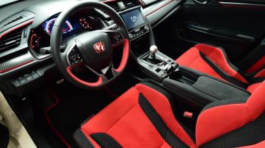 Honda Civic Type R 2017 - studio interior