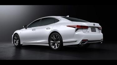 Lexus LS F rear quarter
