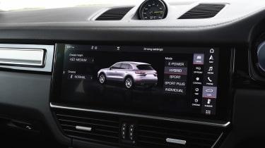 Porsche Cayenne E-Hybrid - infotainment