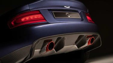 Aston Martin Vanquish by Callum - rear detail