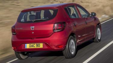 Dacia Sandero SCe 75 Ambiance - rear