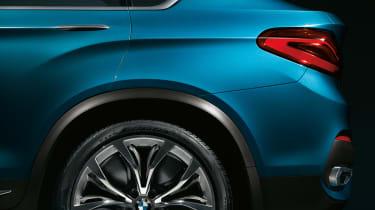 BMW Concept X4 detail