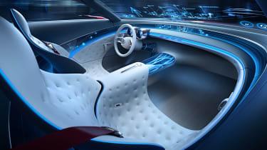 Mercedes-Maybach 6 concept coupe - dash night