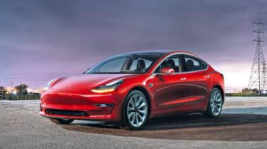 Tesla Model 3 - front static