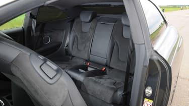 Audi RS5 - rear cabin shot