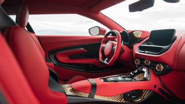 Aston Martin DBS GT Zagato - interior
