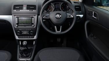 Skoda Yeti 4x4 interior