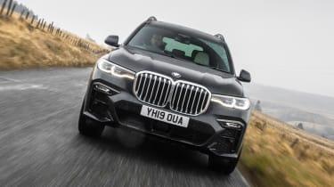 BMW X7 - full front
