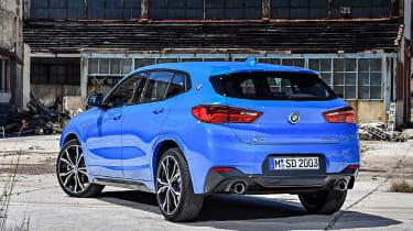 BMW X2 leak rear quarter