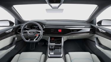Audi Q8 SUV - interior 2