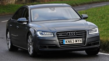 Audi A8 - best used luxury cars