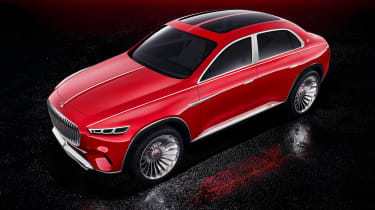 Vision Mercedes-Maybach SUV - studio above
