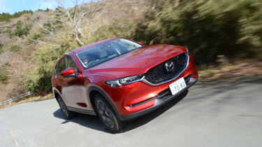 New Mazda CX-5 - front tracking