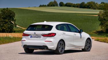 BMW 1 Series 2019 rear static