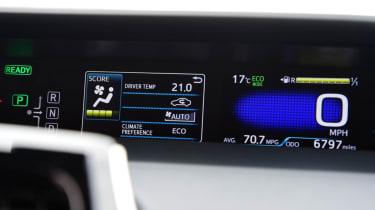 Toyota Prius - dials