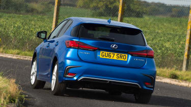 Lexus CT 200h - rear cornering
