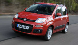 Fiat Panda front tracking