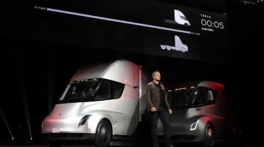 Tesla lorry - electric truck revealed - Elon Musk speaking