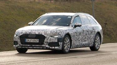 Audi A6 Avant spies front
