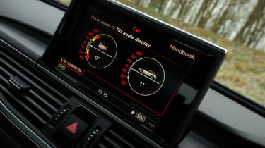 Audi A6 Allroad display