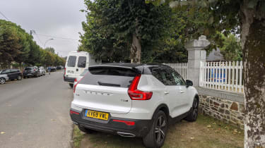 Volvo XC40 Recharge T5 long termer - second report rear