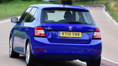 Skoda Fabia SE L: long-term test review - rear cornering