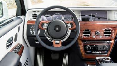 Rolls-Royce Phantom - steering wheel