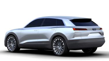 Audi Q6 rear