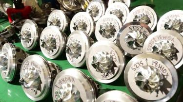 Many turbo spools