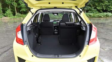 Honda Jazz yellow boot