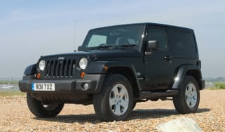 Used Jeep Wrangler - front