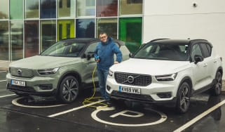 Volvo XC40 Recharge T5 long termer - final report header