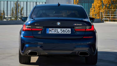 BMW M340i xDrive - full rear static