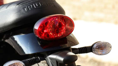 Triumph Street Twin review - tail-lights