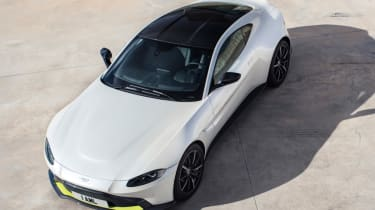 Aston Martin top view