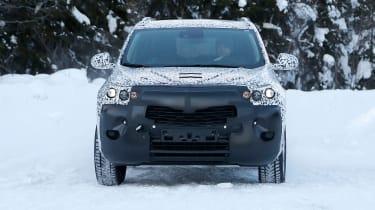 Vauxhall Mokka X spied front